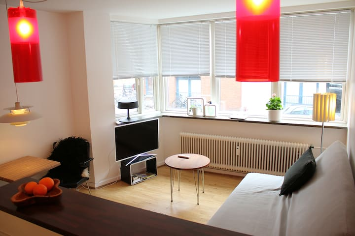 nice local flat in the old area of Christianshavn