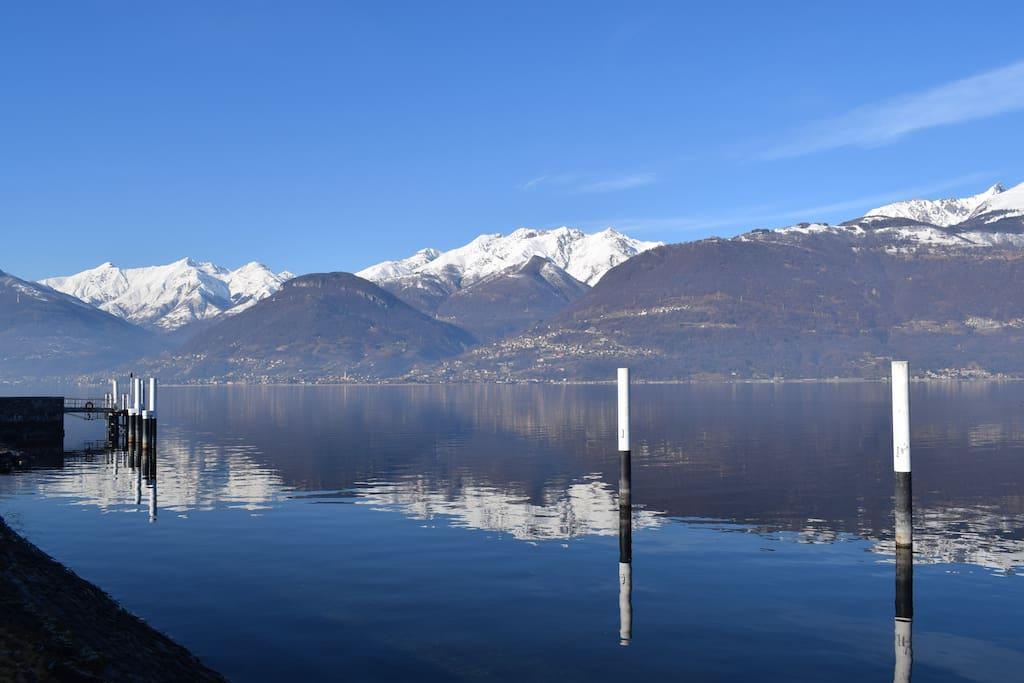 Casa azalea colico lake como tra lago e monti huizen for Lotti in piano casa fronte lago