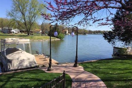 lake front home with amazing water views - Lake Saint Louis