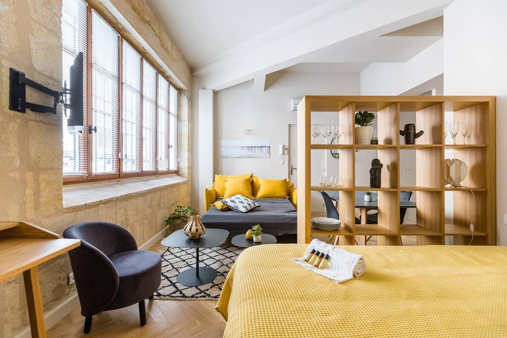 Canapé-lit + lit