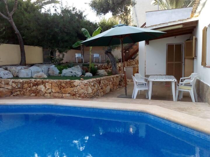 Chalet con Piscina, Mallorca