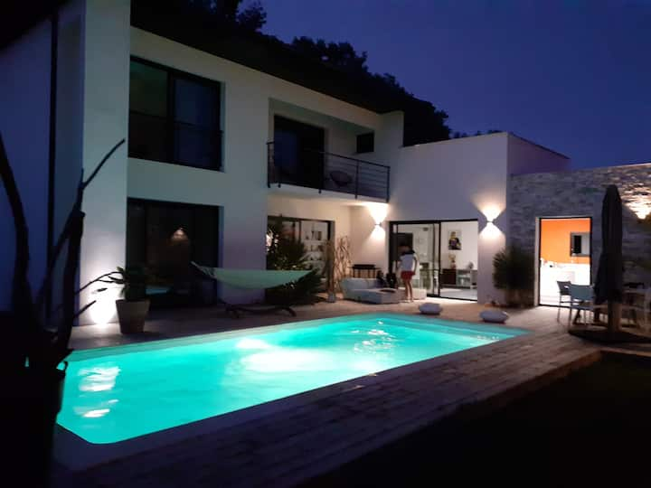 Villa contemporaine d'exception