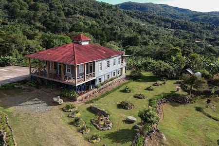 Double room in beautiful coffee plantation house