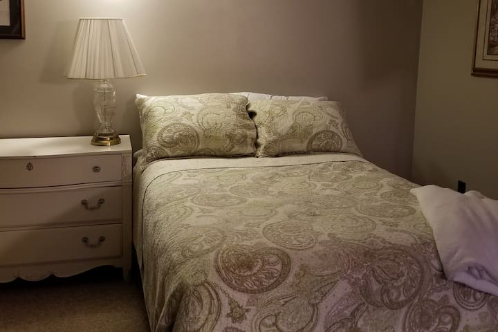 Enjoy a restful night. All linens are provided.