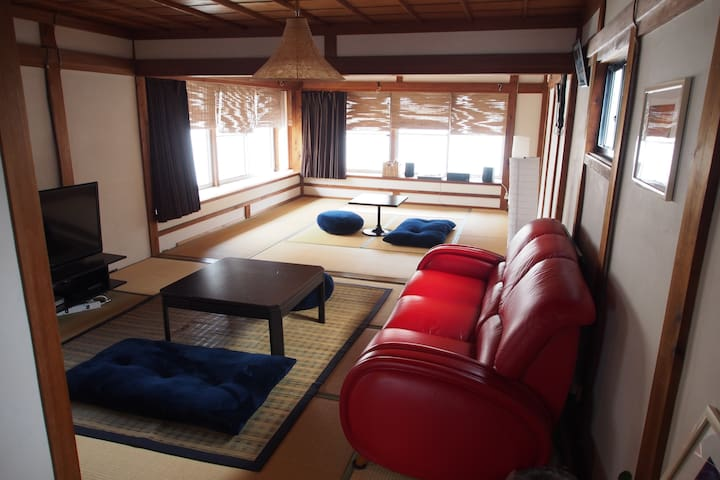 《Japanese old style》cozy rooms in Kochi