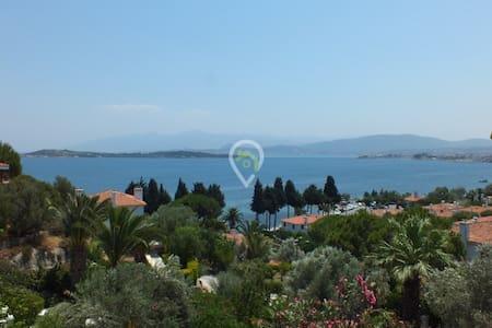 Urla 3 oda müstakil bahçeli,deniz manzaralı - Urla