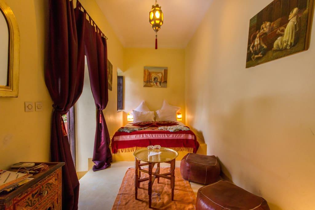 Les nuits de marrakech chambres d 39 h tes louer for Chambre d hote marrakech