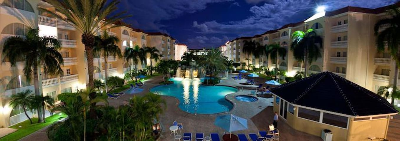 Aruba offers perfects temps for dips after dark...