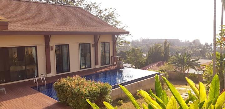 Posh Sea View Villa in Panwa Cape.