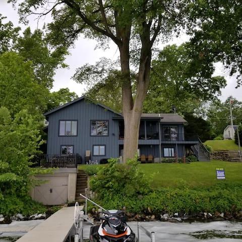 Fabulous Lake Property on Fox Lake, WI