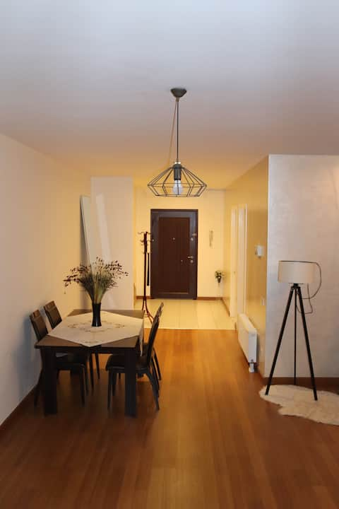 Moderný apartmán s nepretržitou bezpečnosťou