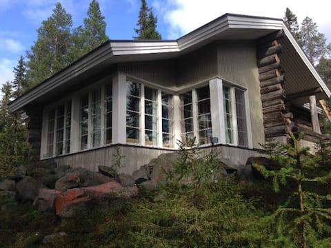 Log cabin/Jyhkeä kelomökki Pyhäranta 8