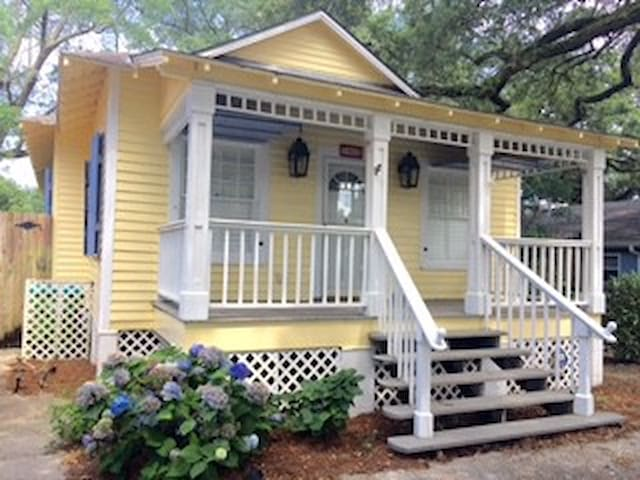 Shabby Chic And Unique Beach Cottage - Gulfport - Hus