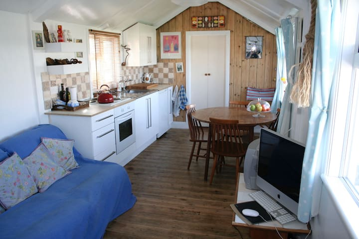 Traditional Seaside Chalet, Bacton, Norfolk Coast