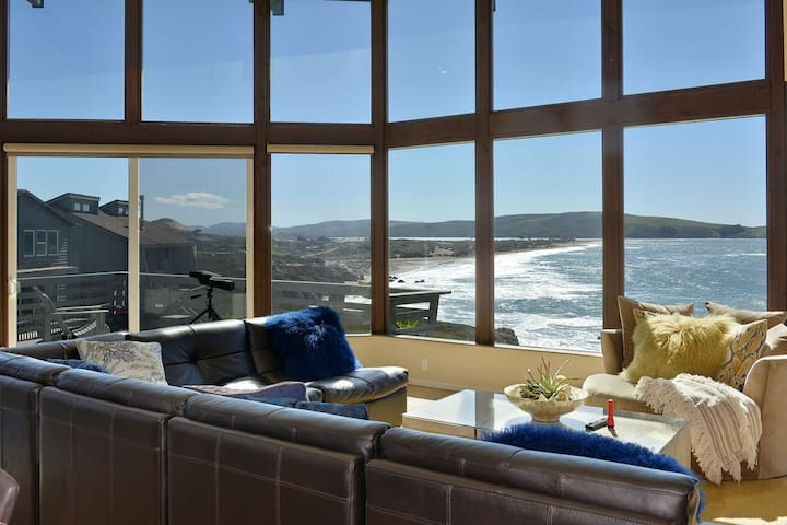 Completely Remodeled Ocean Front Home