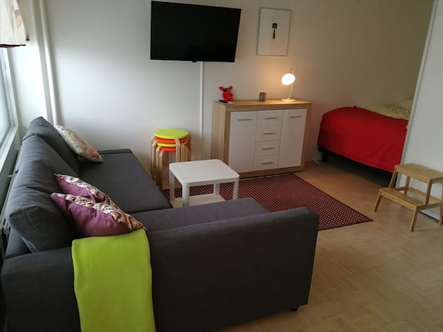 Cosy small apartment in the Helsinki city center