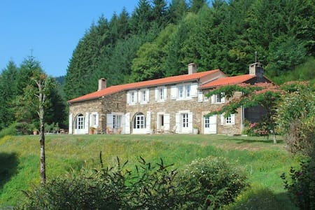 Renovated farmhouse with heated pool, Ht Languedoc - Courniou - บ้าน