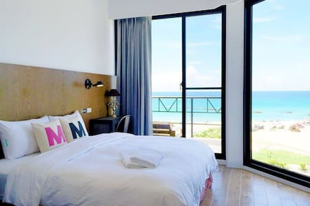 米尼米-無敵海景陽台雙人房 Amazing SeaView Room II - Okręg Hengchun