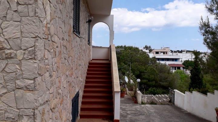 Casa panoramica a 500m dal lungomare di Leuca