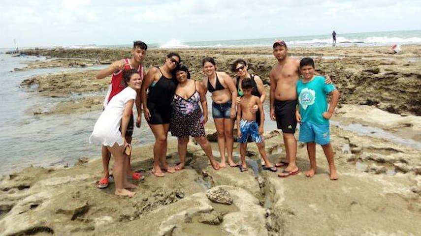 Hospedaria Peixe-Boi Marinho - Barra do Mamanguape - Casa
