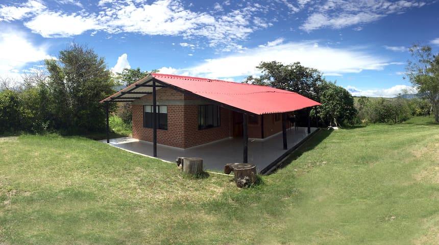 Cabaña campestre recién remodelada - Finca privada
