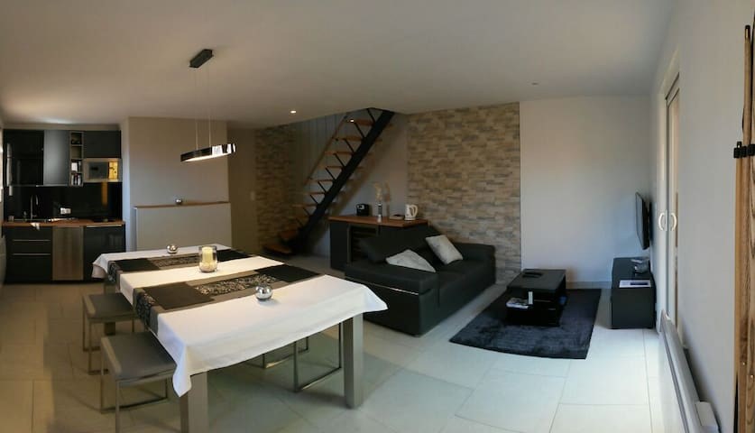 Duplex avec son spa privé au coeur du Luberon - Beaumettes - Apartamento