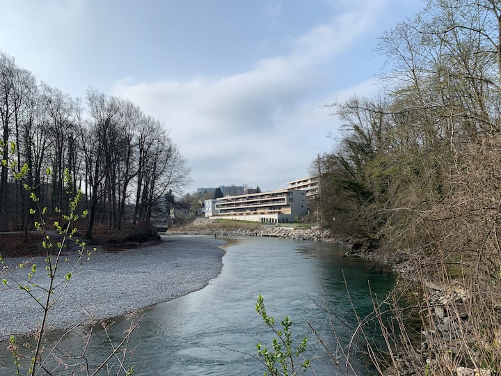 Aaretraum, nähe Wankdorf und Stadt Bern