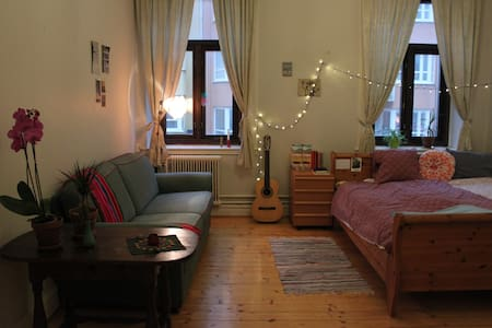 Cozy private bedroom for up to 4 people - CENTRAL - Lund