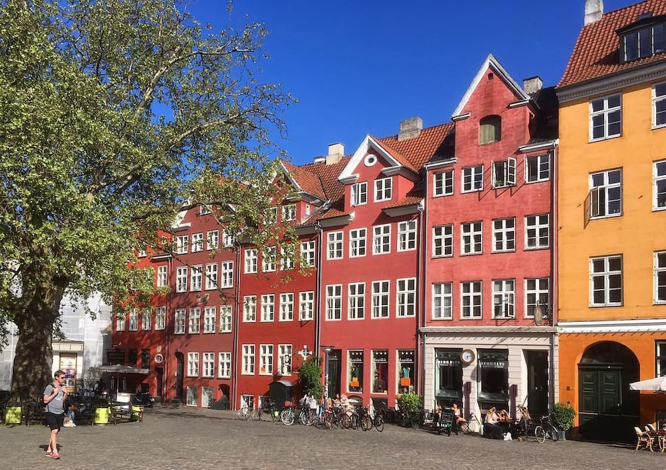 The beautiful square Gråbrødretorv