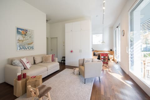 Family apartment with many extras