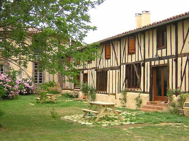 Gîte Nature au Domaine de Marsan. - PARLEBOSCQ  - Alojamento ecológico