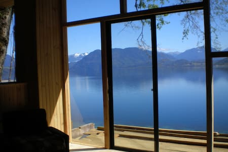 Cottage in the Lake Maihue, Chile