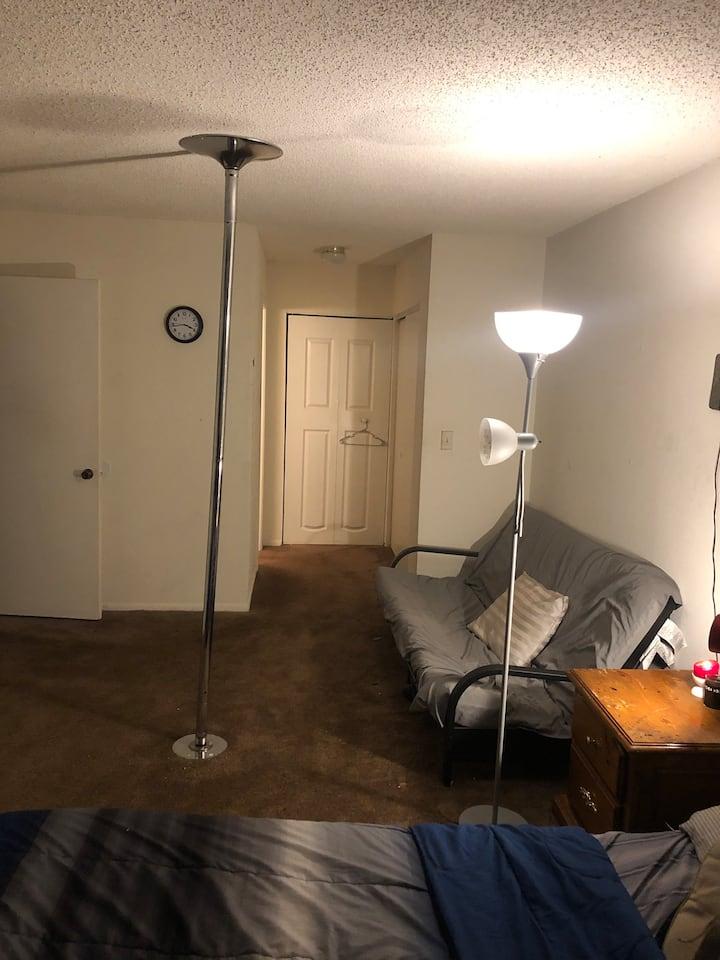 Exclusive Master Bedroom with Pvt. Bathroom.