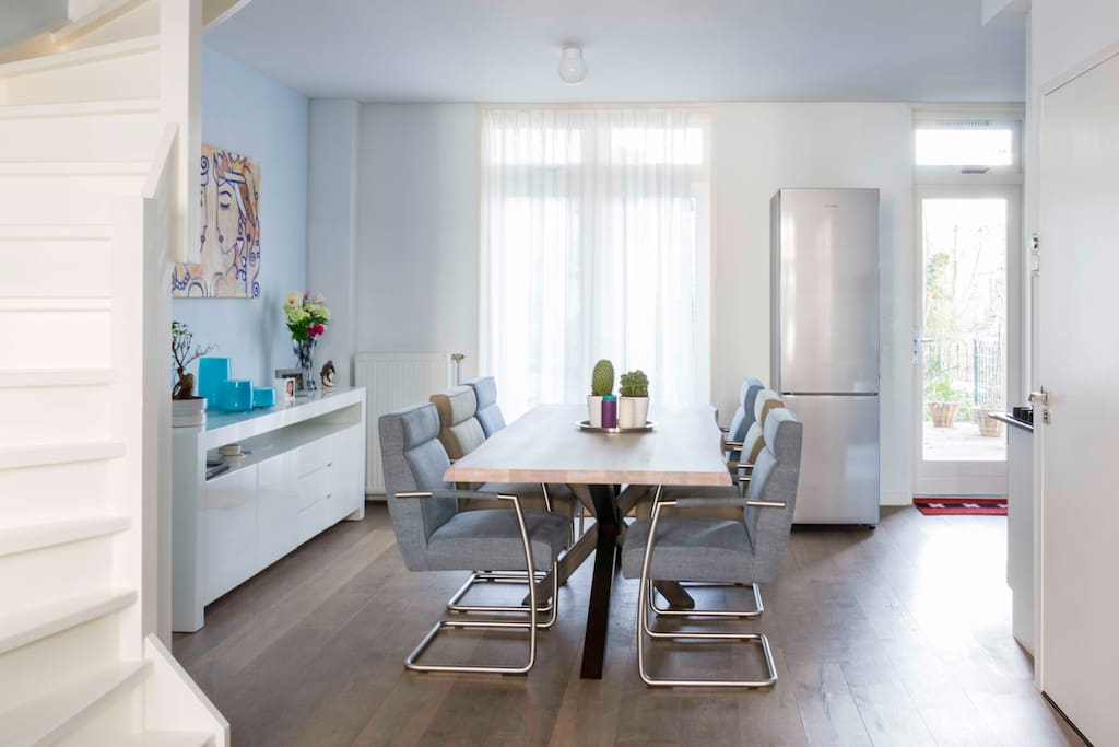 Luxury apartment with large terrace in westerpark for Appartamenti amsterdam vacanze