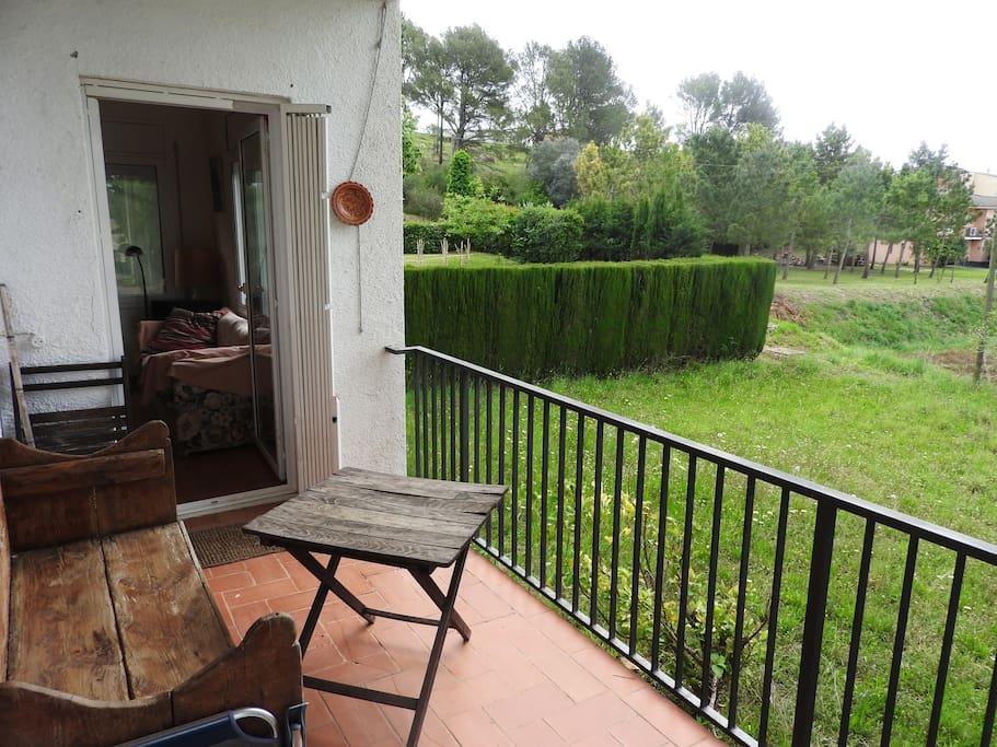 Balcón al Jardín