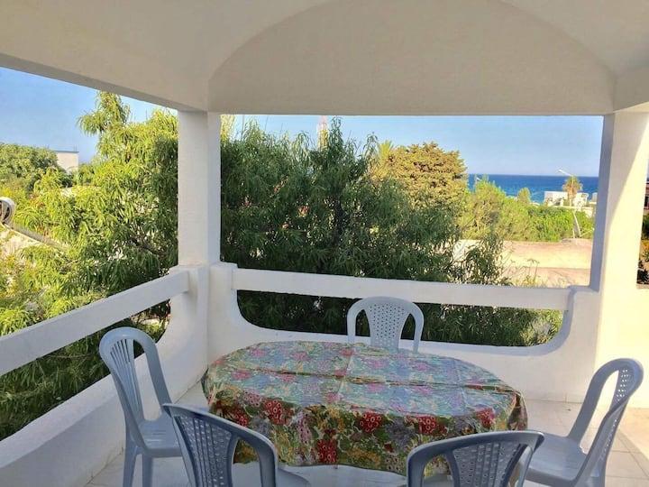 Joli studio avec vue sur mer à Haouaria plage