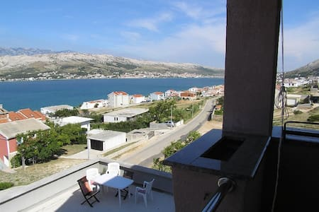 Charming one bedroom apartment in Pag - Pag