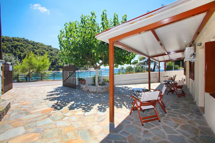 "Agnontas Beach (Skopelos): ""AKRI"" 3 Bedroom House"
