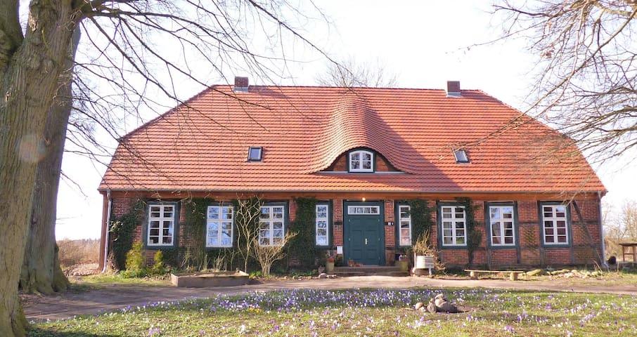 Forsthof Mestlin, former Forester's House - Mestlin - Kondominium