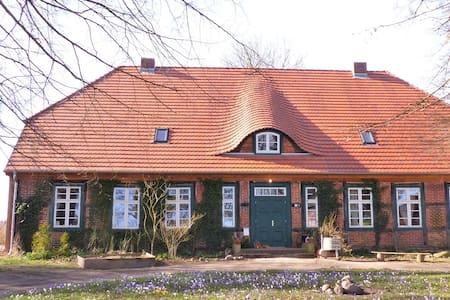 Forsthof Mestlin, former Forester's House - Mestlin - Osakehuoneisto