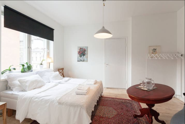 A beautiful bedroom in city center - Helsinki - Apartament