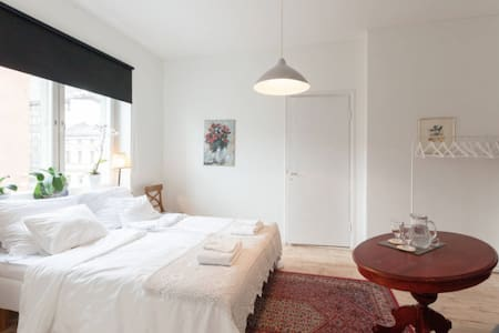 A beautiful bedroom in city center - Helsinki