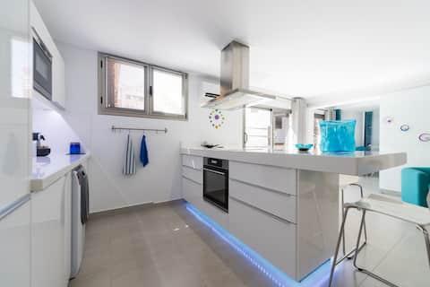 Luxury Design Apartment Bungalow 72m2 ADSL Patio