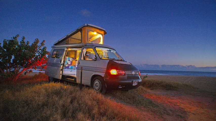 """Sarah"" the Luxury Camper Van on Kauai (1999)"