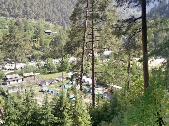 Parvati woods camps - Trip to kasol - Kasol - Tenda