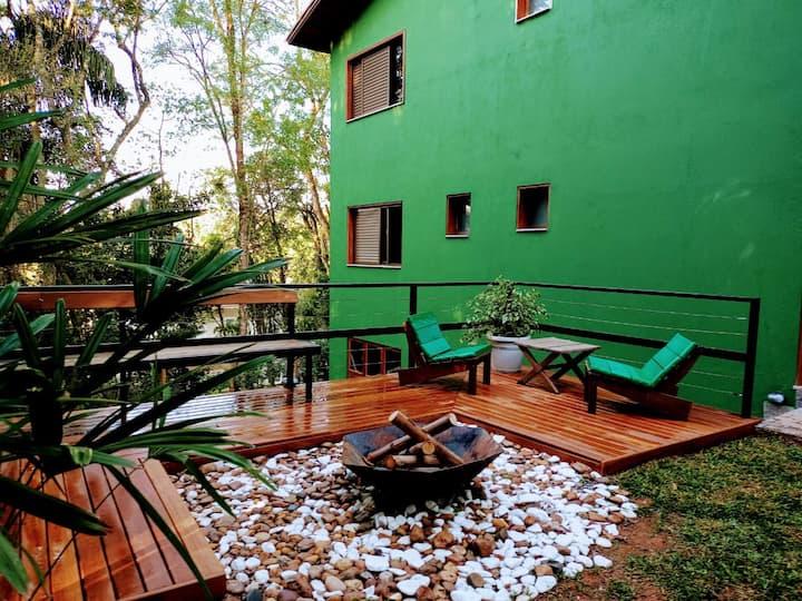 Casa em condomínio na Serra da Cantareira