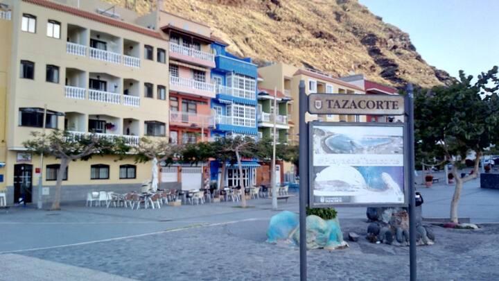 Vista Mar - Edificio Azul - Puerto de Tazacorte