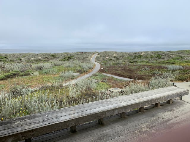 Monterey Dunes Oceanfront 3BR single story Retreat