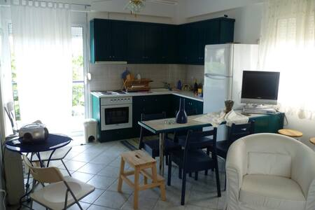 Summer luxury studio by the sea - Nea Plagia - Apartmen