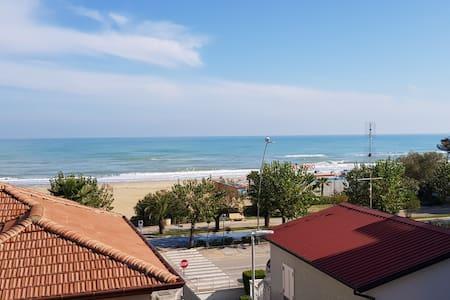 Casa a 30 metri dalla spiaggia di Alba Adriatica